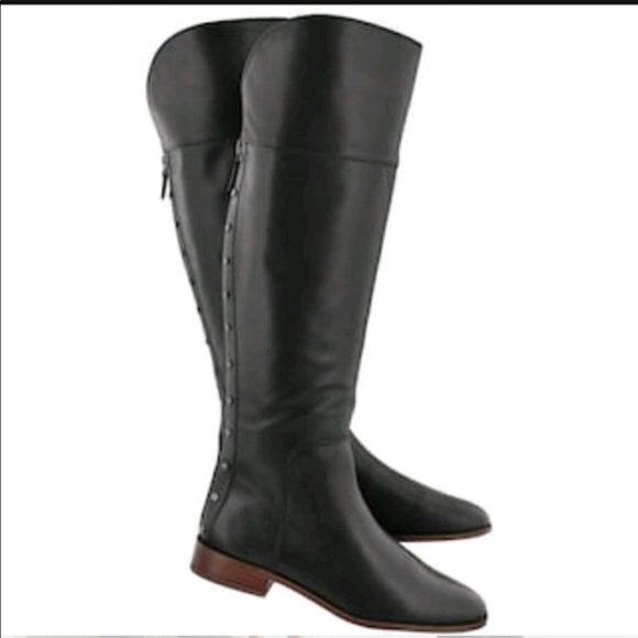 ec52e3a915e Franco Sarto Shoes - Franco Sarto Roselle Leather High Boot